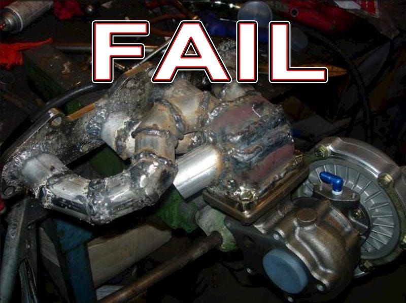 Illustration for article titled 30 Epic Do-It-Yourself Automotive Fabrication Failures