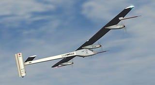 Illustration for article titled Solar Impulse Prototype Unveiled; Solar Plane to Circumnavigate the Globe
