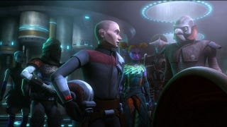 Illustration for article titled Simon Pegg joins Boba Fett's All-Star Bounty Hunter Team & we become a DC Nation
