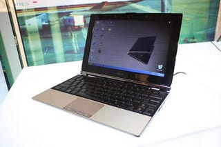 Illustration for article titled Asus S101 Looks Thin and Pretty In Real Life, Too