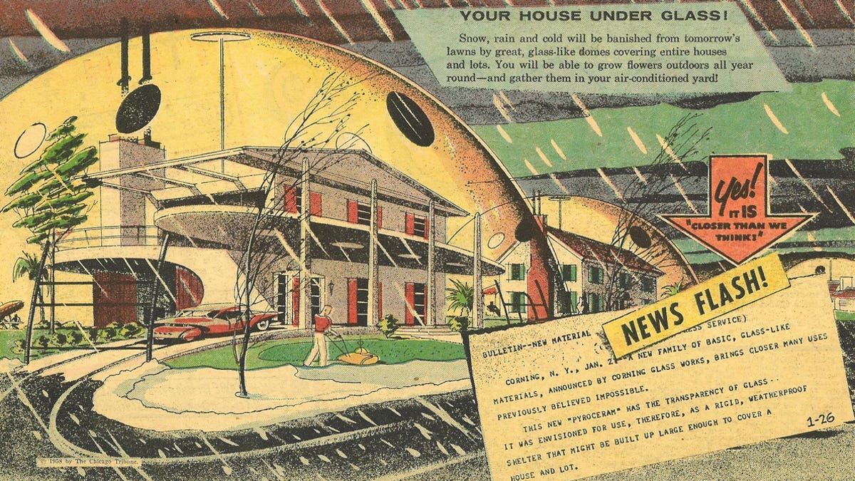 42 Visions For Tomorrow From The Golden Age of Futurism on 50's robot, 50's modern, 50's space, 50's cars, 50's architecture, 50's design, 50's horror, 50's computer, 50's shopping, 50's sports, 50's illustration, 50's graphic, 50's flowers, 50's holiday, 50's family, 50's anime, 50's dance, 50's cartoon, 50's alien, 50's war,