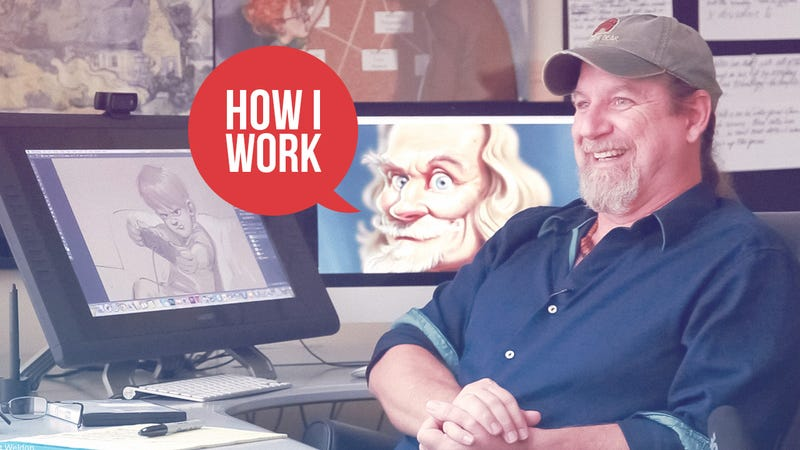 Illustration for article titled I'm Aaron Blaise, Animator and Illustrator, and This Is How I Work