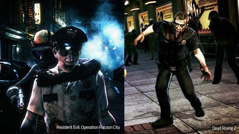 Illustration for article titled The Difference Between A Resident Evil Zombie And A Dead Rising Zombie