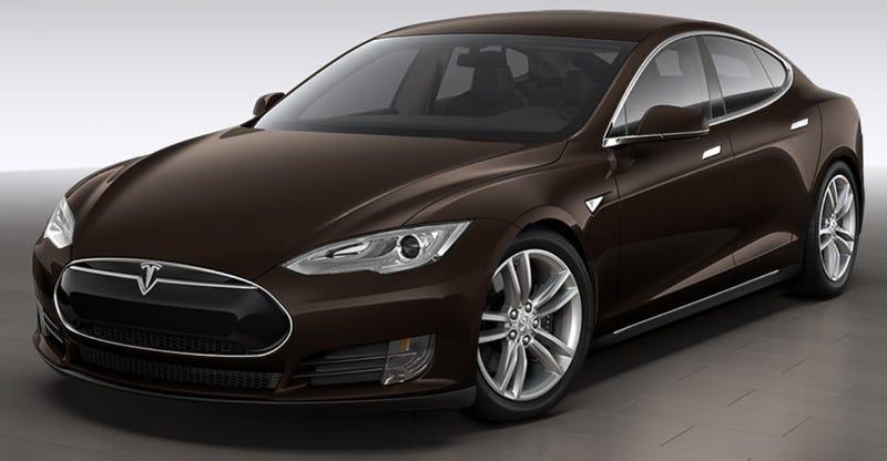 Illustration for article titled Brown Tesla Model S Canceled; Elon Musk Is Dead To Us