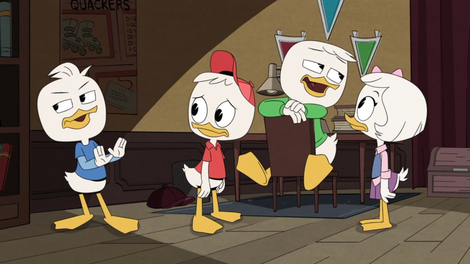 DuckTales goes on a super secret spy high adventure that's