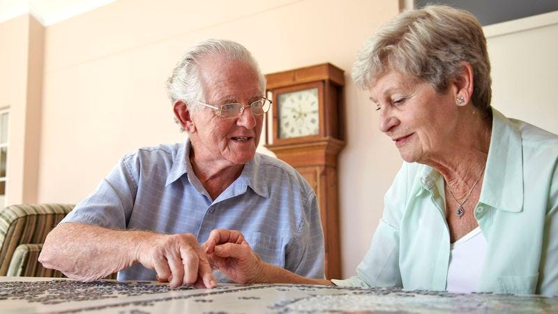Illustration for article titled Unclear If Grandma Just Friends With 81-Year-Old Widowed Man