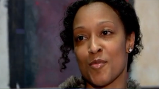 Hilcorp employee Amanda Thompson and all of her colleagues received $100,000 Christmas bonuses.KTVU screenshot