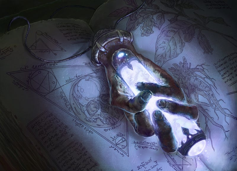 Illustration for article titled Concept Art Writing Prompt: Necrotic Focus