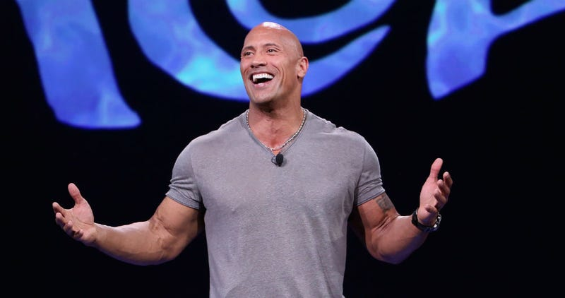 Dwayne Johnson, aka The Rock, is keeping the Disney films coming. Image: Disney