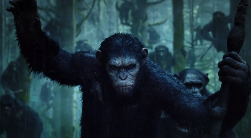 Illustration for article titled The First Dawn of the Planet of the Apes Clip Gave Us Chills