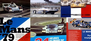 Illustration for article titled Classic Porsche Le Mans Posters In Hi Res, You're Welcome