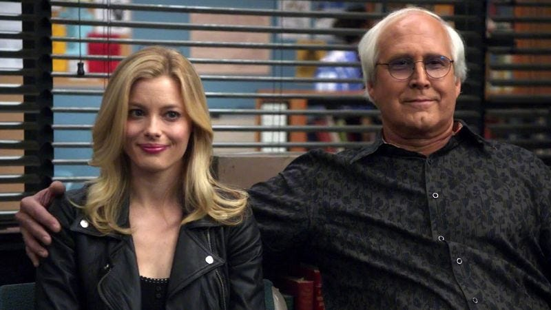 Illustration for article titled Gillian Jacobs and Chevy Chase to reunite in the Hot Tub Time Machine