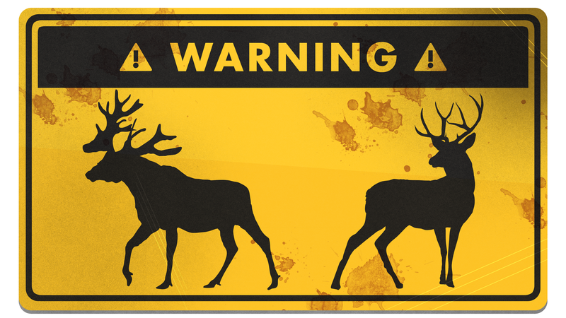 Illustration for article titled How to Survive a Deer or Moose Attack