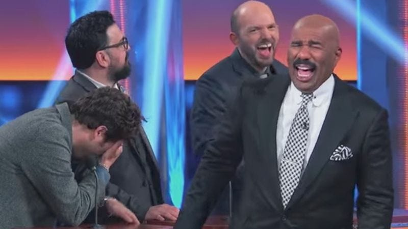 Screenshot: Celebrity Family Feud
