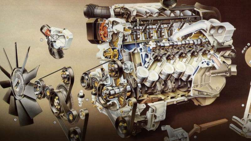 """Illustration for article titled The Ten Worst """"High-Performance"""" Engines Of All Time"""