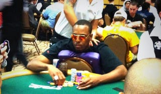 Illustration for article titled Paul Pierce Gets Massage, Busts Out At World Series Of Poker