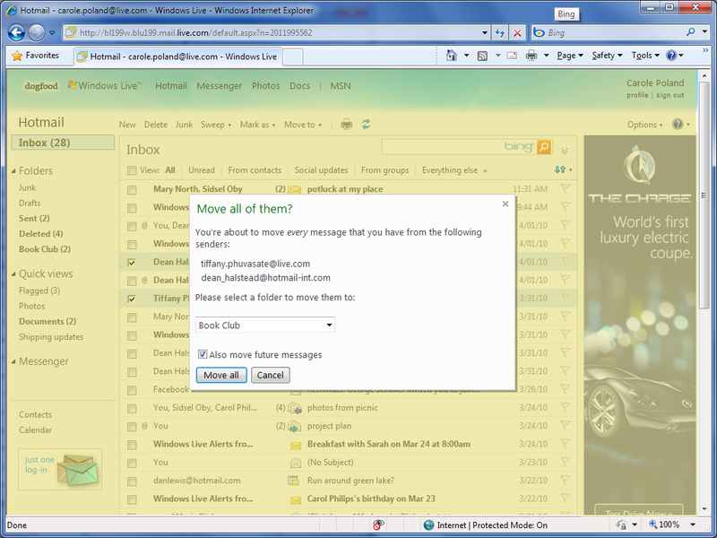 Illustration for article titled Microsoft's Hotmail Gets A Makeover: Here's What's New