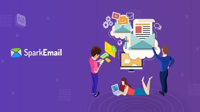 """Illustration for article titled """"Your email needs to show personality. Get personal and tell a story that others can connect with."""""""