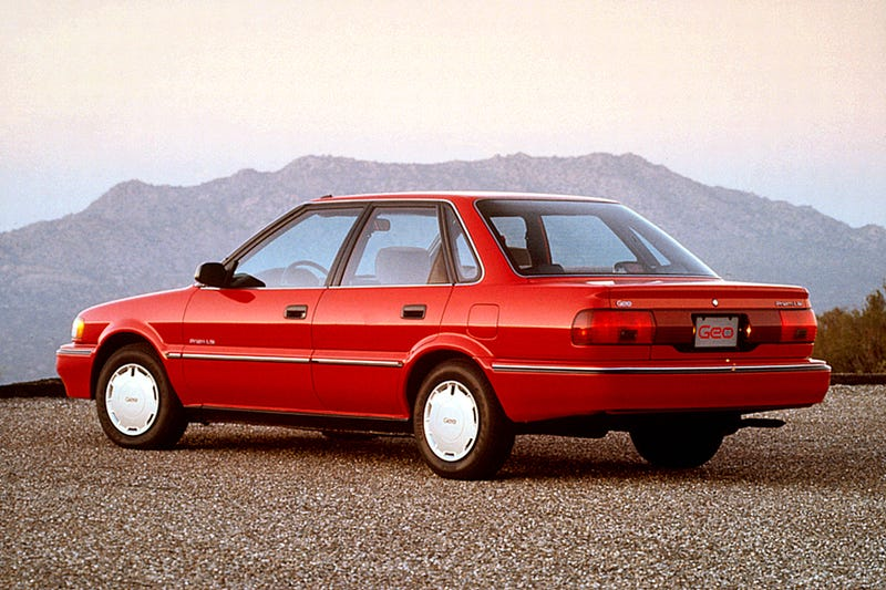 Illustration for article titled You Aren't Really Cool Until You Roll Up To Radwood In A Geo Prizm