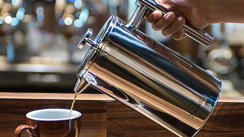 X-Chef French Press, $18 with code HXSEDT7Q