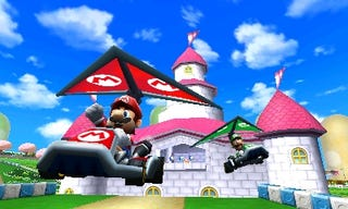 Illustration for article titled Mario Kart 3DS Adds Miis, Flying and...Oh yeah, 3D