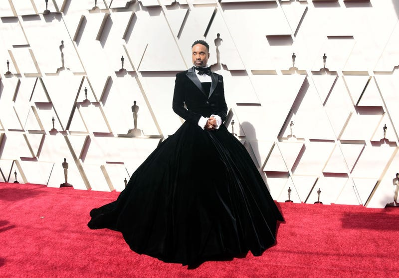 Illustration for article titled A List of Things Personally Threatened By Billy Porter's Red Carpet Gown