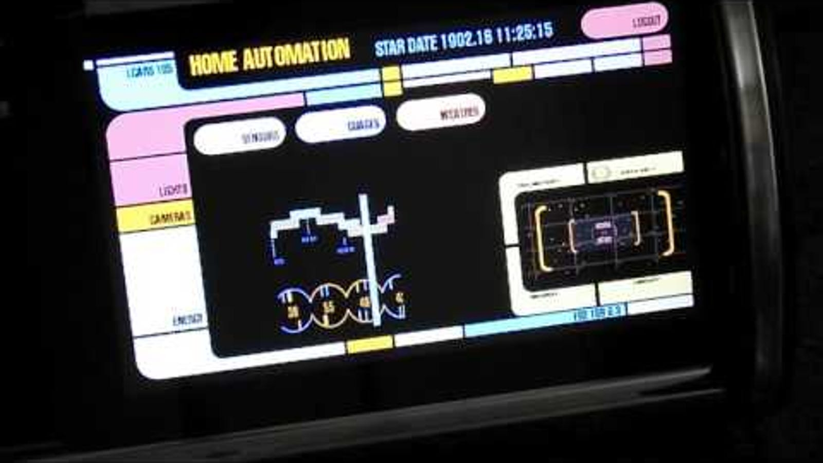 Add the Star Trek LCARS Interface to Any Touch Screen