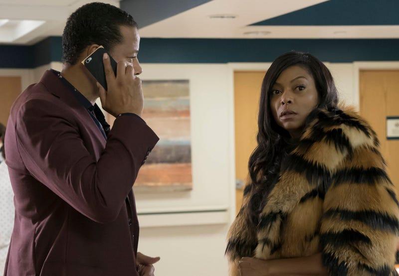 Terrence Howard (Lucious Lyon) and Taraji P. Henson (Cookie Lyon) in a scene from EmpireChuck Hodes/Fox
