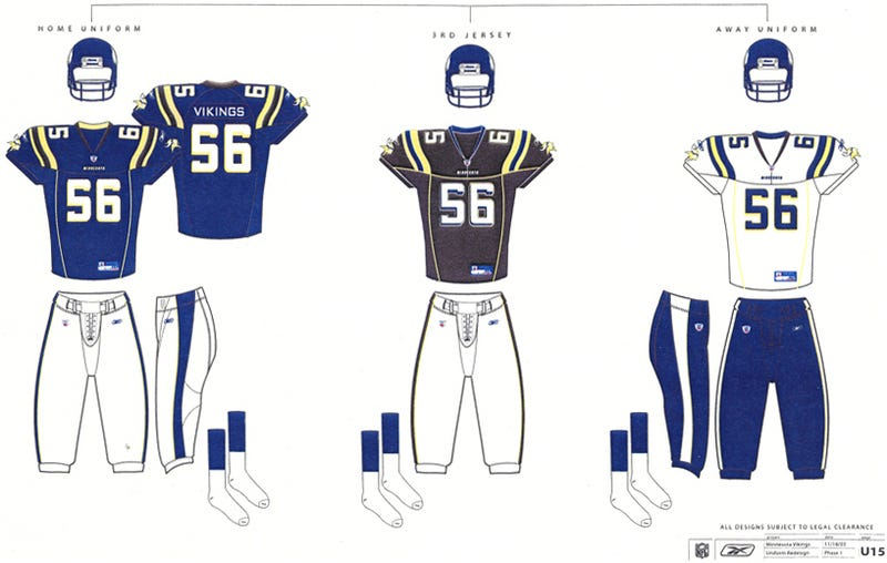 Illustration for article titled The Vikings Considered Black Uniforms