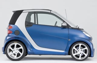 Illustration for article titled Lorinser Smart ForTwo Turbo Is Fun Until Your Friends Find Out