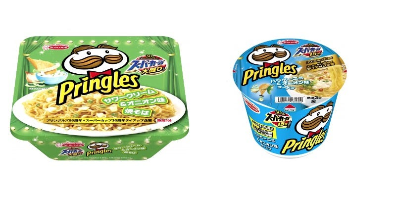 Illustration for article titled Pringles Flavored Ramen And Noodles Exist In Japan