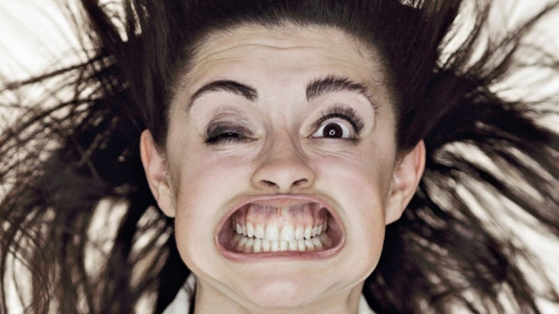 Illustration for article titled Photographs of people being blasted by wind in the face are priceless