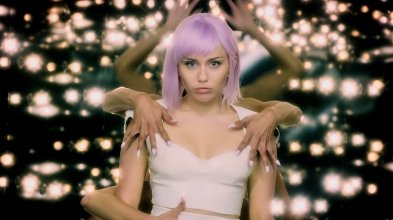 Miley Cyrus stars in one of the episodes of Black Mirror.