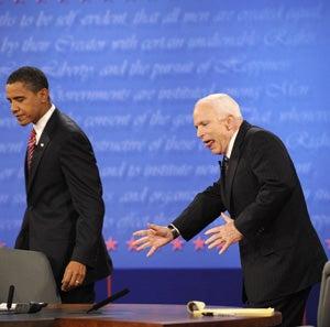 Illustration for article titled John McCain Spews Rhetorical Chunks Into The Lap Of America