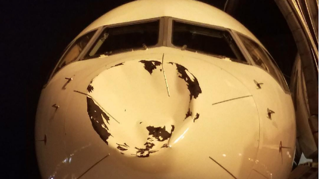Small UFO Obliterated By Oklahoma City s Chartered Plane