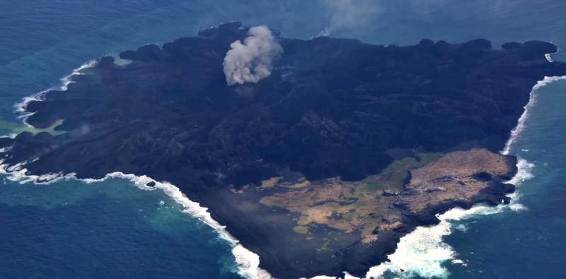 Illustration for article titled Científicos ven peligro de hundimiento y tsunami de una isla en Japón