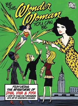 Illustration for article titled DVF Plays Superhero, Serves Cosmos