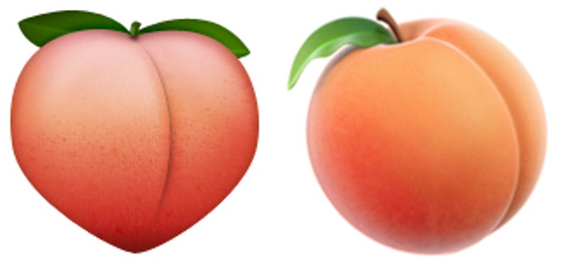 Peach Emoji - Emoji World