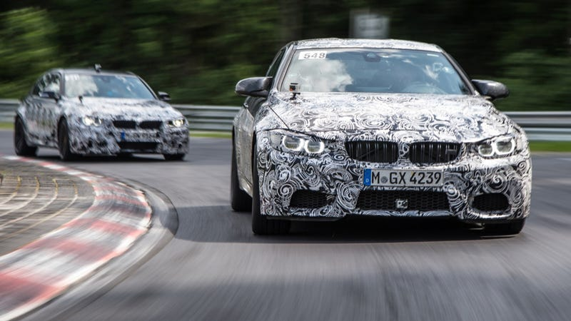Illustration for article titled New BMW M3 And M4 Go Turbocharged, Keep The Manual Transmission