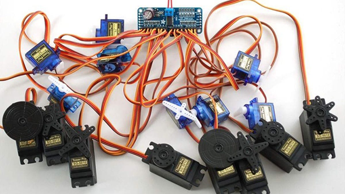 Build A Kickass Robot Arm The Perfect Arduino Project For Beginners Is Called Advanced Connection Because This Electrical Control Board