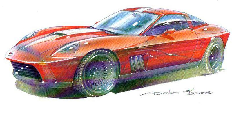 Illustration for article titled N2A Stinger Mates Retro Style To Modern Corvette Chassis