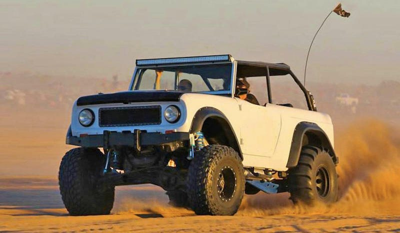 An International Scout 80 Finally Got The Extreme Build It
