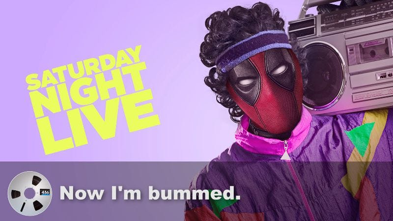 """Illustration for article titled """"Deadpool"""" responds to SNL petition with Kanye-inspired rant"""