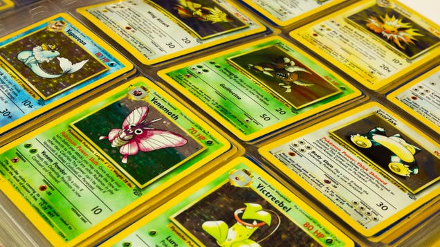 How Much Are Your Old Pokémon Cards Worth Lately?