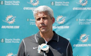 Illustration for article titled Dolphins Scout Says He Was Fired For Staying Home To Care For Sick Wife