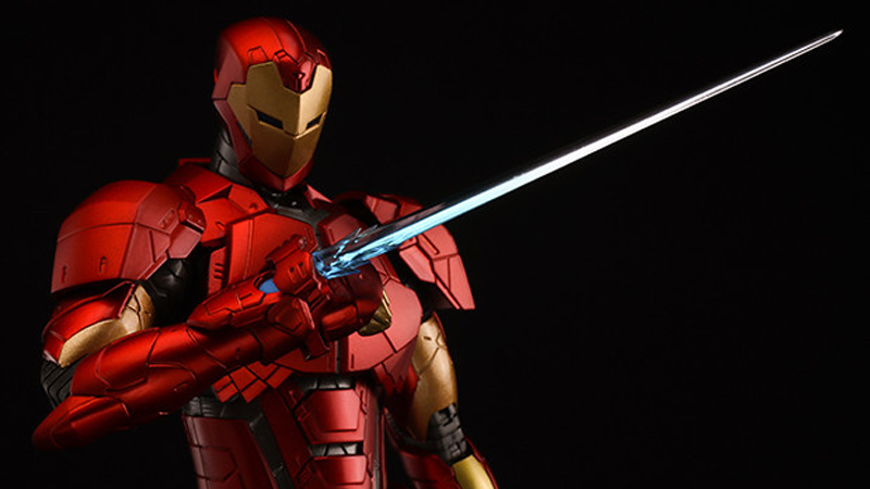 Iron Man's Latest Suit of Armor Makes for an Amazing Action Figure