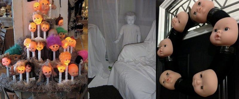 decoraciones terroríficas para Halloween