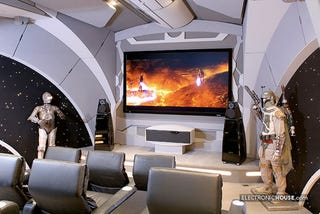 Illustration for article titled Death Star Home Theater