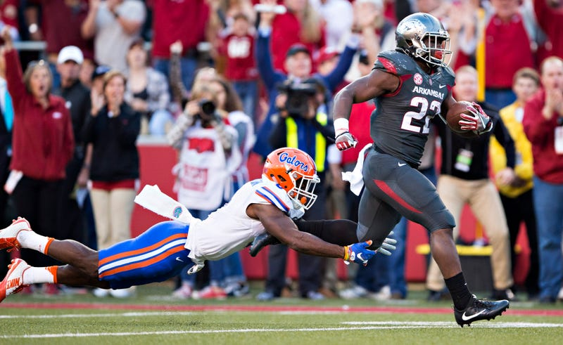 Arkansas RB Williams to quit football after latest injury