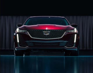 Illustration for article titled Here's the 2020 Cadillac CT5's order guide